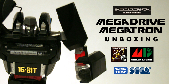Photo of Unboxing: Mega Drive Megatron
