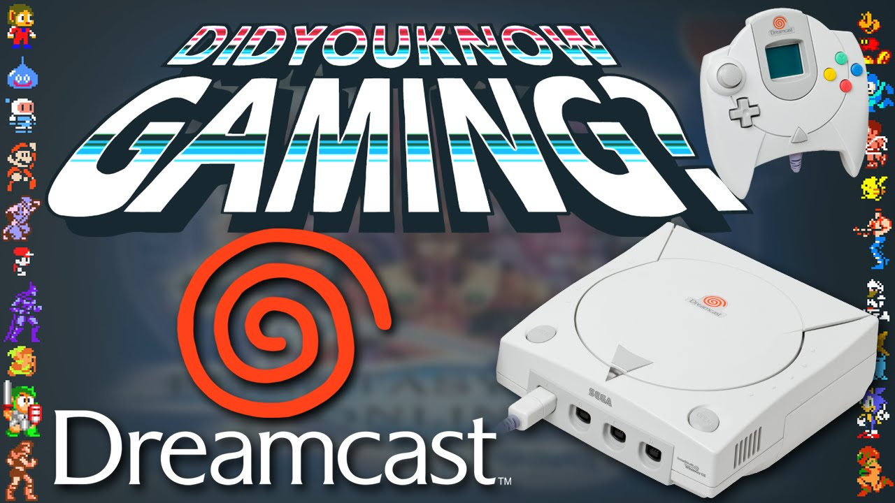 Photo of New Did You Know Gaming? video features the SEGA Dreamcast