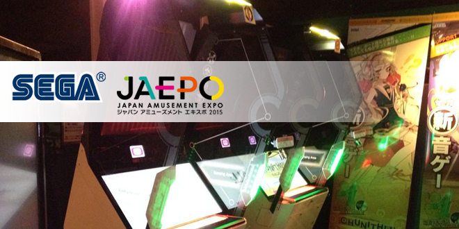 Photo of SEGA Amusements Japan reveals JAEPO 2015 lineup