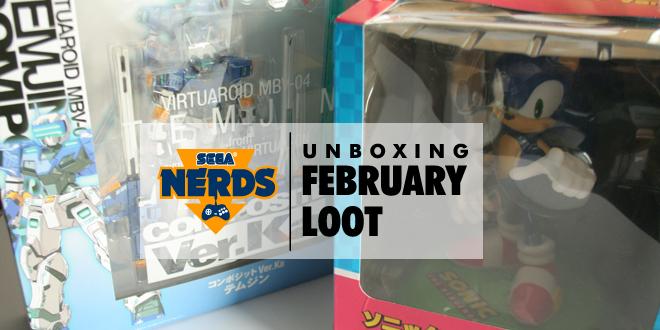 SEGA Nerds February Loot