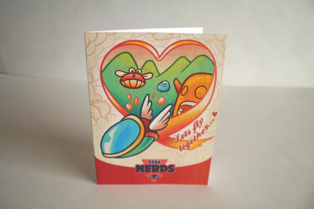 Fantasy Zone Valentine's Card by Melee Ninja