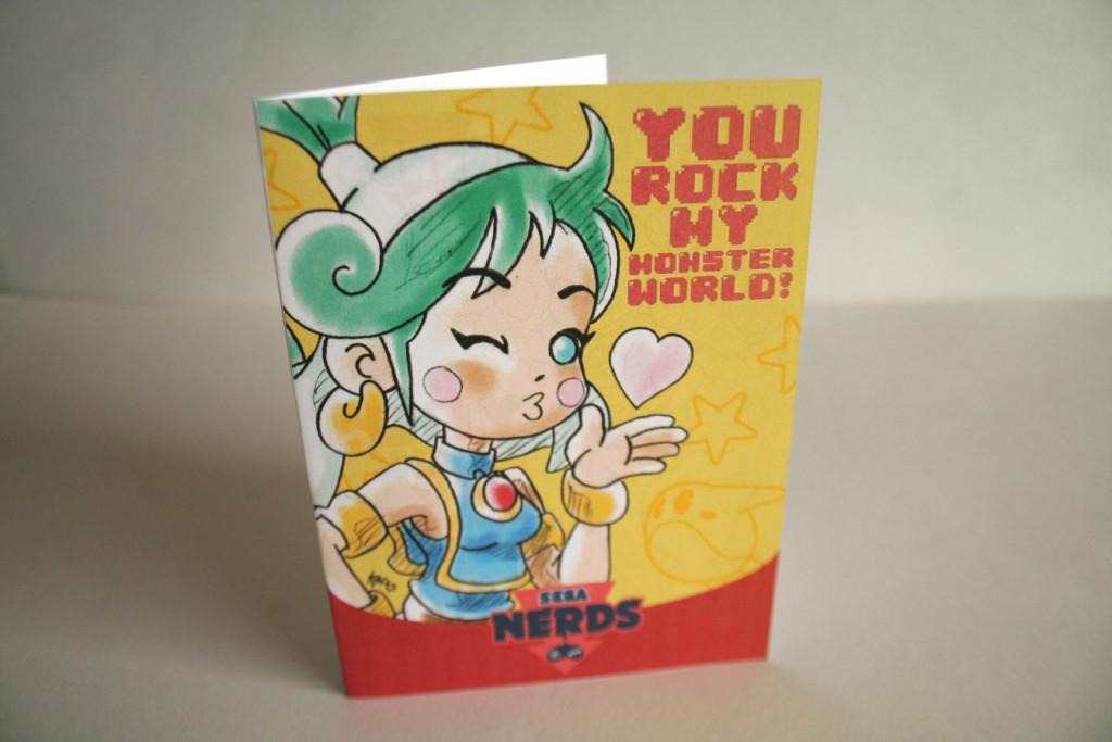 Monster World IV Valentine's Day Card by Köpke