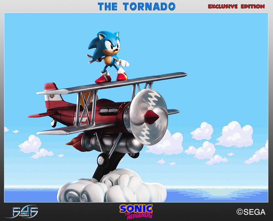 """Photo of First 4 Figures present Sonic """"The Tornado"""" Diorama"""