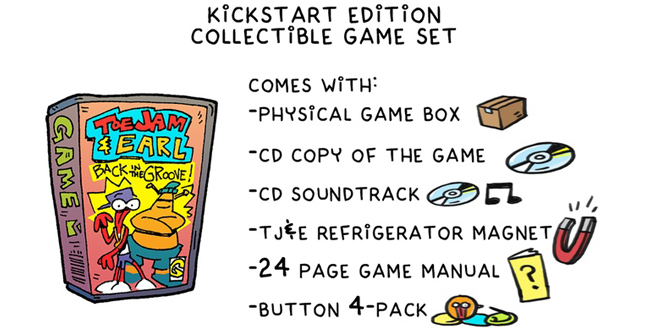 Photo of ToeJam & Earl Kickstarter campaign adds physical edition