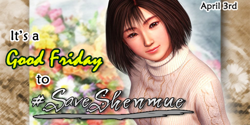 Photo of You can help Yu Suzuki by tweeting #SaveShenmue today