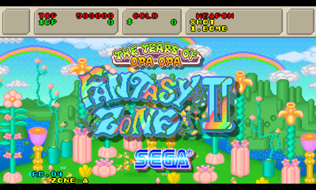 Resultado de imagen de Fantasy Zone II: The Tears of Opa-Opa 3DS
