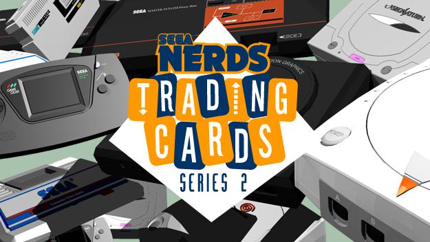 SEGA Nerds Trading Cards Series 2