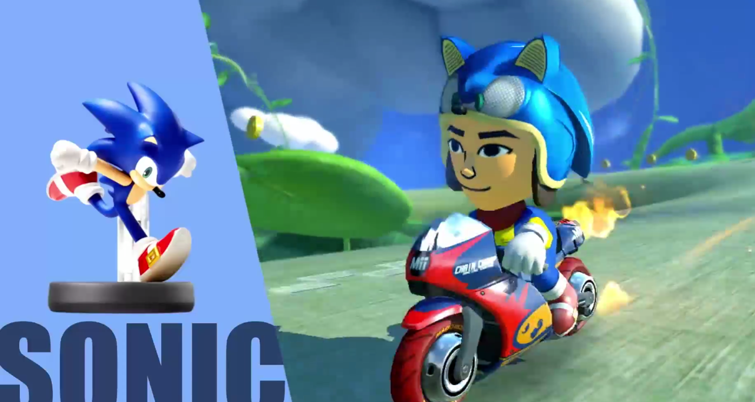 Photo of You can dress up your Mii as Sonic in Mario Kart 8