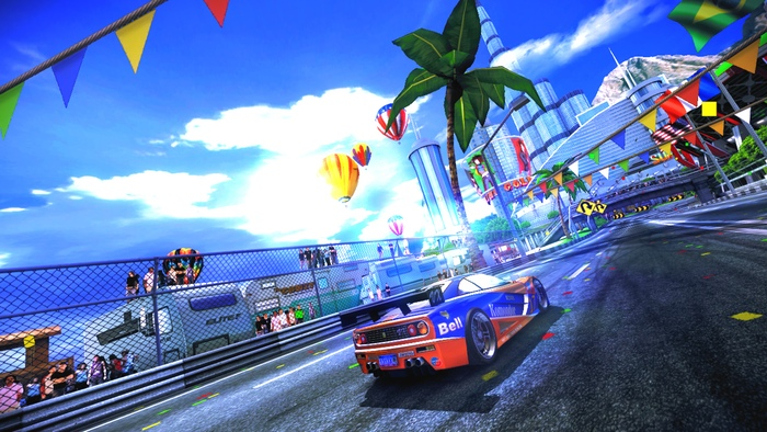 Photo of New 90s Arcade Racer video shows slick Wii U gameplay