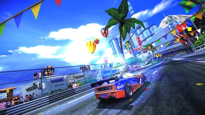 Photo of New 90s Arcade Racer video shows slick Wii U gameplay