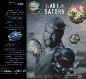 Ice Cube loved his SEGA Saturn.