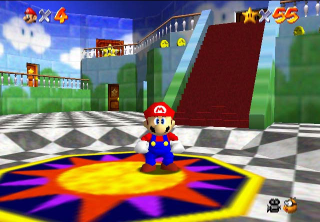 Despite what some people might think, Mario 64 sucks.