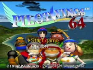 I played Pilotwings 64 at launch. It sucked.