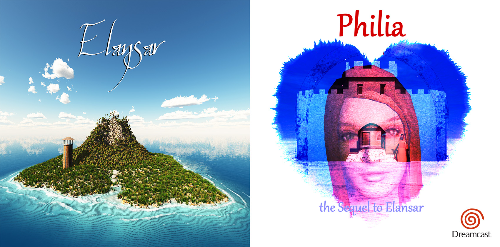 Photo of Hucast's Dreamcast games, Elansar and Philia, are now available for purchase