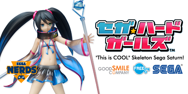 Photo of Good Smile, FREEing and SEGA unleash 1:8 Saturn Figure and Hard Girls Keystraps preorders!