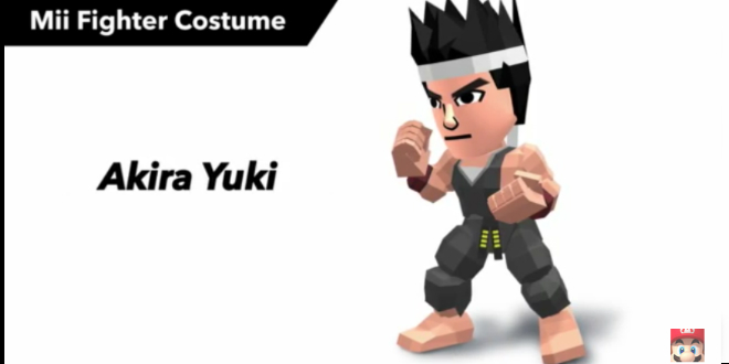 Photo of Virtua Fighter costumes added to Super Smash Bros.