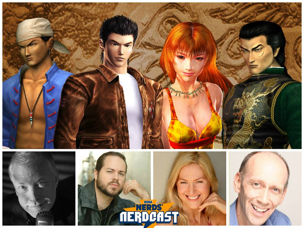 Photo of Check out the SEGA Nerdcast with Shenmue's English voice actors!