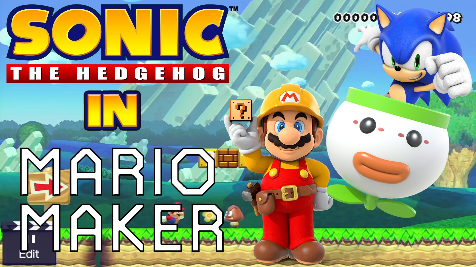 You can play as Sonic in Super Mario Maker | SEGA Nerds