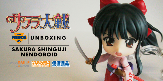 Photo of UNBOXING: Sakura Shinguji Nendoroid