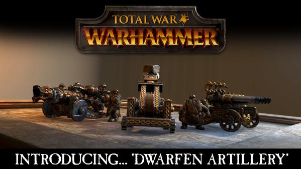Photo of Total War: WARHAMMER  Dwarfen Artillery introduction