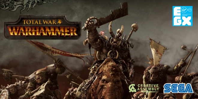 Photo of EGX 2015 : Total War Warhammer presentation