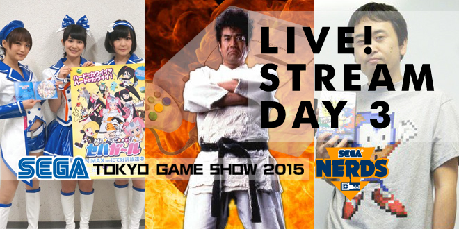 Photo of TGS 2015 : Watch the SEGA Day 3 Stream live!