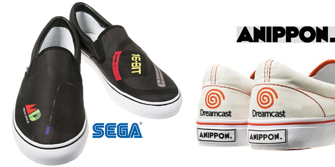 SEGA console shoes