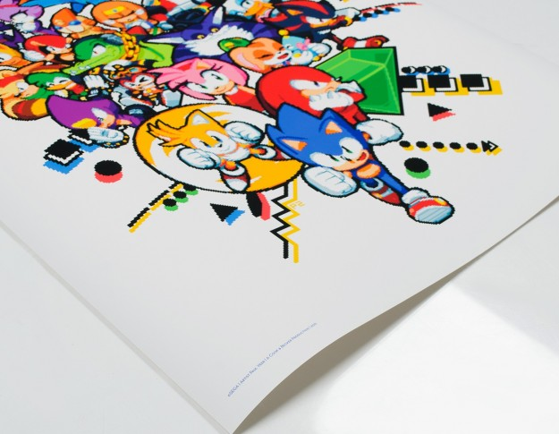 Photo of Cook & Becker unveils Virtua Fighter & Sonic prints