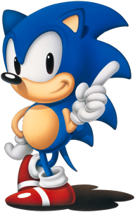 That classic Sonic look - before the series started to go downhill. Ahh the good old days...