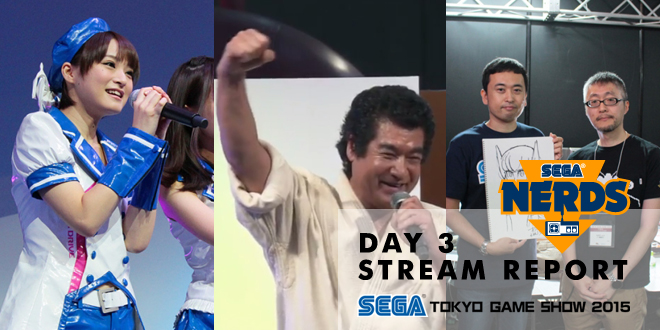Photo of TGS 2015 : SEGA Day 3 Stream Hightlights! Until your fingers break!