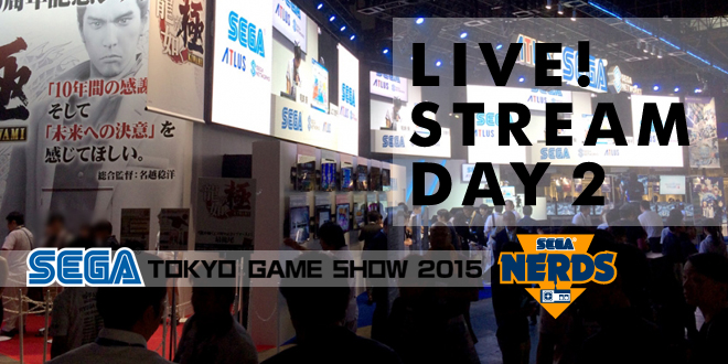 Photo of TGS 2015 : Watch the SEGA Day 2 Stream live!