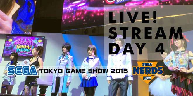 Photo of TGS 2015 : Watch the SEGA Day 4 Stream live!