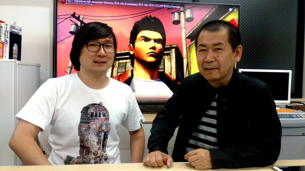 Photo of Yu Suzuki has hired the man behind the Shenmue HD YouTube videos