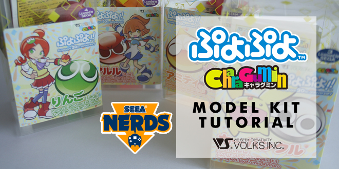 Photo of Tutorial: Assembling the Puyo Puyo Charagumin model kits by Volks