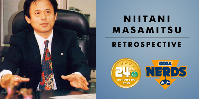Photo of Niitani Masamitsu, founder of Compile and creator of the Puyo Puyo series