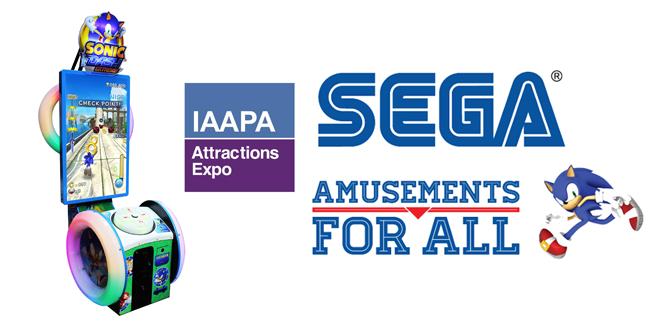 Photo of SEGA Amusements unveils its new Arcade Lineup for IAAPA 2015!