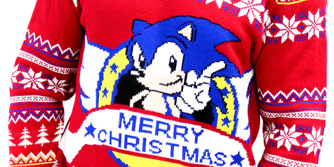 Photo of Numskull & Yellow Bulldog launch new Sonic X-Mas jumper