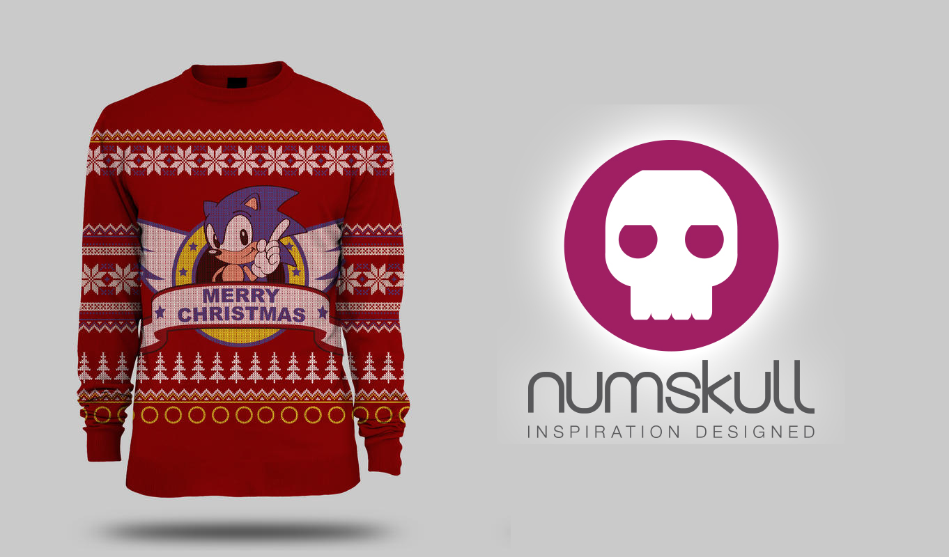 Numskull & Yellow Bulldog launch new Sonic X-Mas jumper | SEGA Nerds