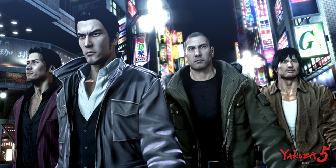 Photo of SEGA streamed Localized Yakuza 5 gameplay