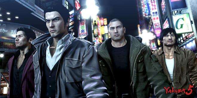 Photo of SEGA streamed Localized Yakuza 5 gameplay