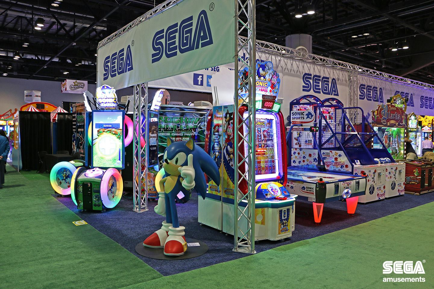 Photo of GALLERY: SEGA Amusements at IAAPA 2015, Orlando