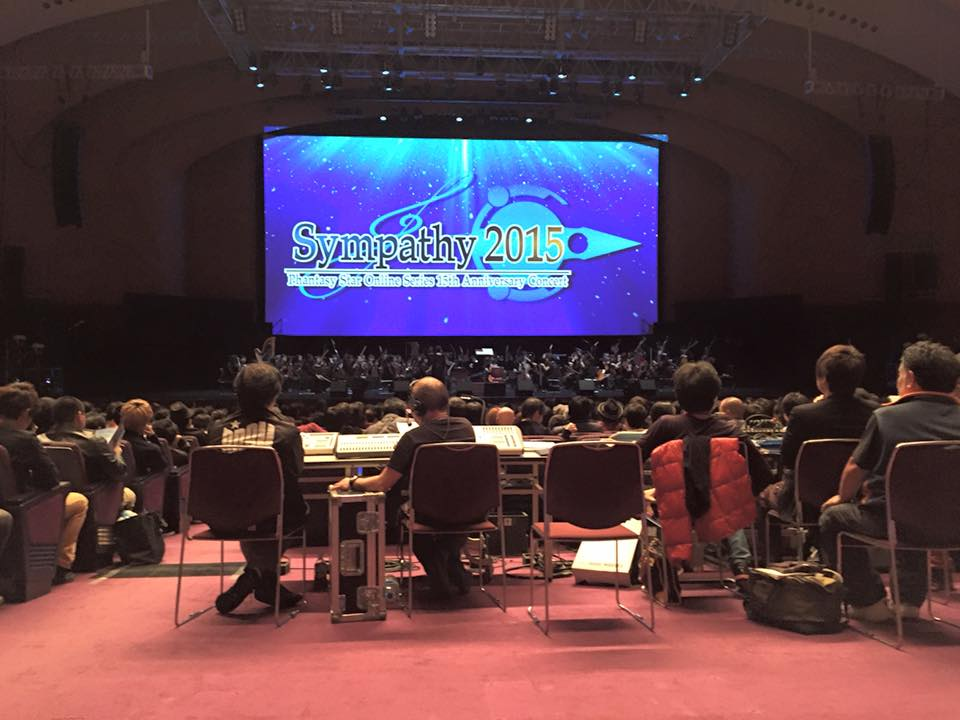 Photo of Phantasy Star Online 15th Anniversary Concert was performed at Japan