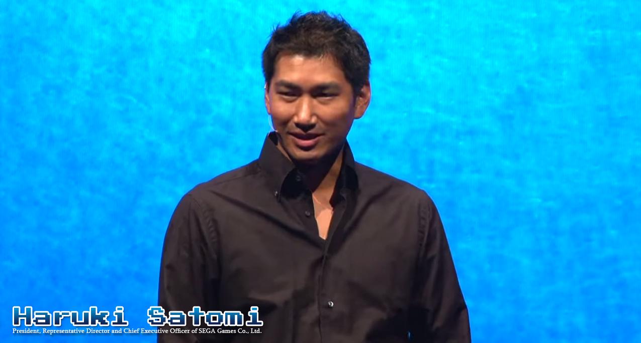 Photo of SEGA Sammy's Haruki Satomi is now the Exec Vice President of Sammy Corporation