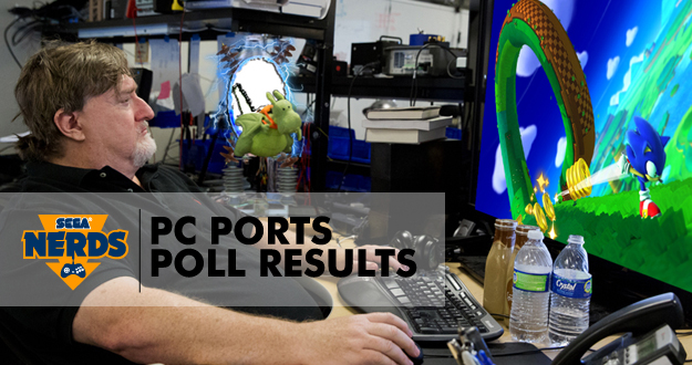 Photo of SEGA PC Ports Poll Results