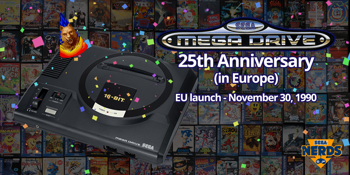 Photo of Happy 25th anniversary to the European Mega Drive