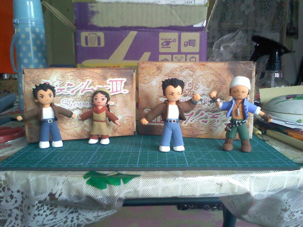 Photo of China's Shenmue Fan Club sent gifts and a heartfelt letter to Yu Suzuki