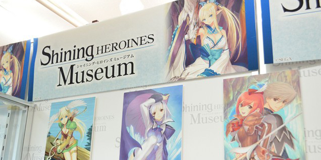 Photo of SEGA opened a Shining Heroines Expo in Japan