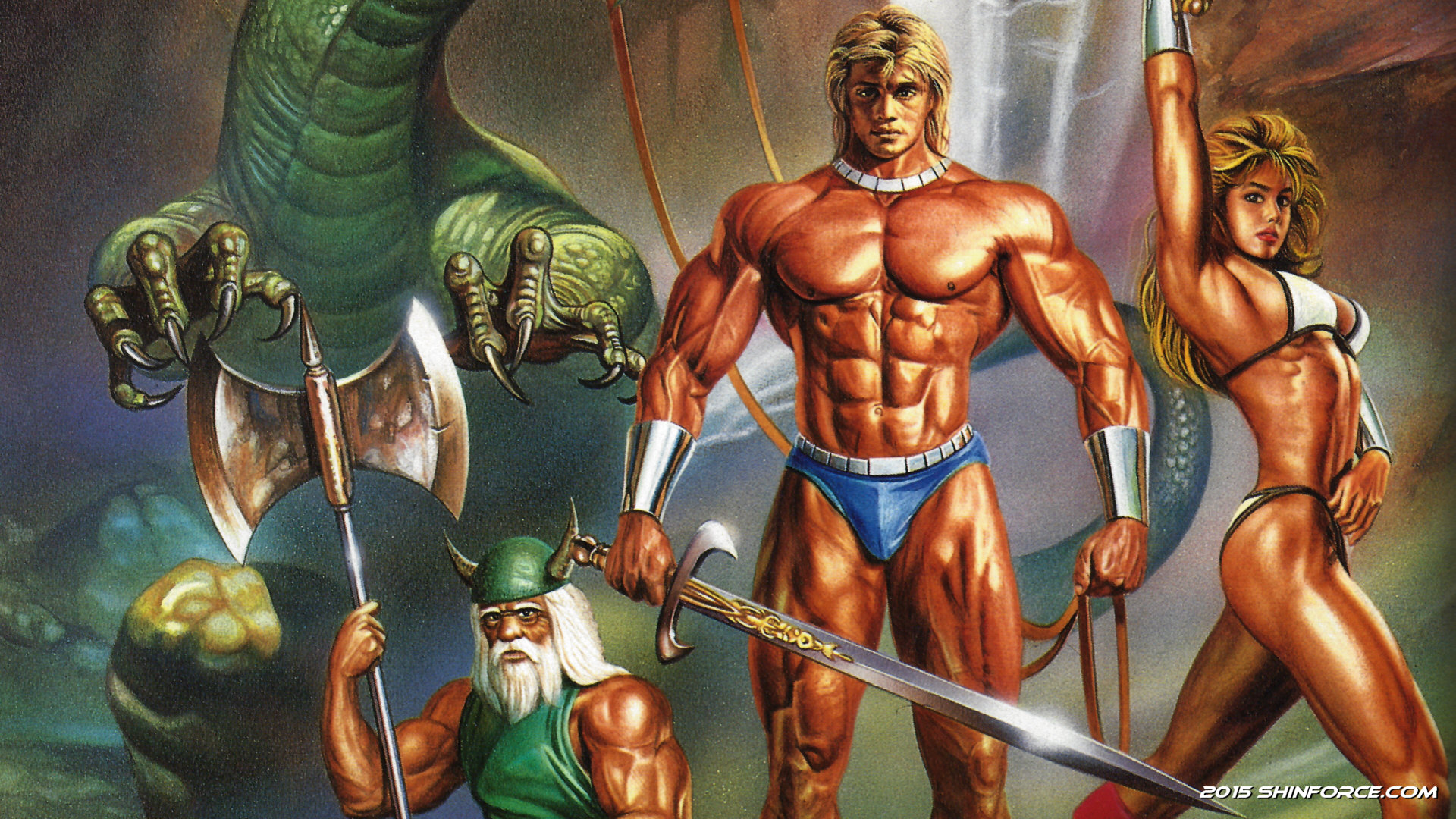 Photo of A Golden Axe remake with Odin Sphere visuals was scrapped by SEGA