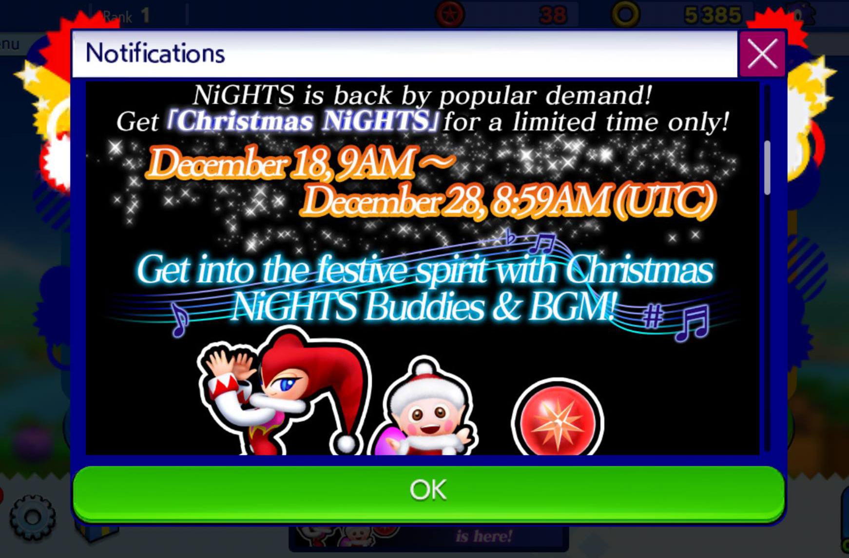 Photo of Christmas NiGHTs arrives to Sonic Runners