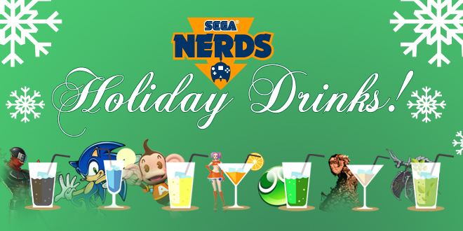 Photo of SEGA Nerds Holiday Drinks!